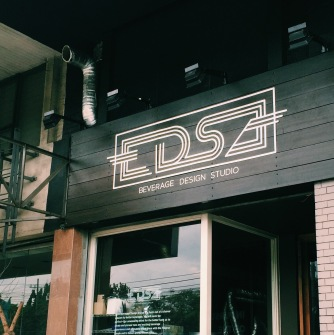 Recently installed sign of EDSA BDG (Source: miccadj)