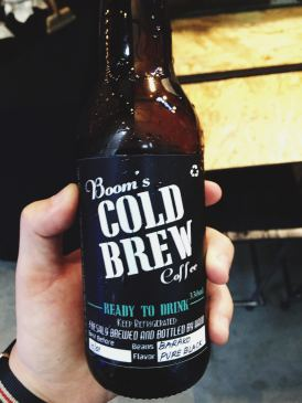 Boom's Cold Brew waking me up and cooling me down (Source: miccadj)