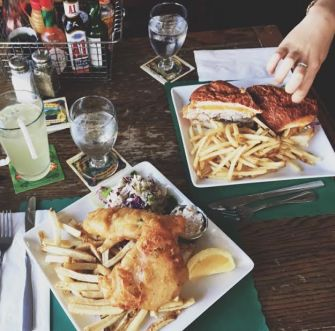 Delicious pub grub (Source: @micca.dj Instagram)