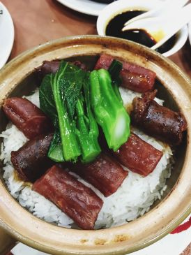 Chinese and liver sausage claypot rice (Source: miccadj)