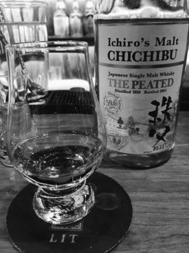 The Peated Ichiro's Malt Chichibu (Source: @micca.dj Instagram)