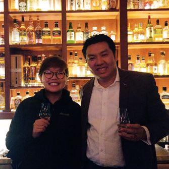 With Mr. Kingson Kok at Whisky Stables (Source: @micca.dj Instagram)