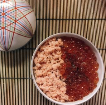 Sashimi oyako don (Source: miccadj)